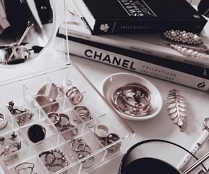 accessories, books, and chanel image