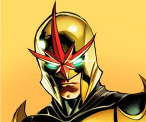 nova, marvel comics, and comic book icons image