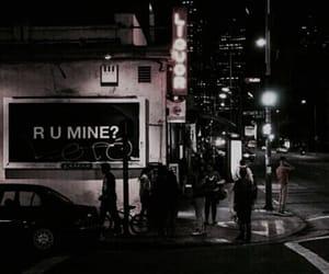 night, dark, and r u mine image
