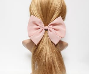 etsy, summer hair bow, and springhairbow image