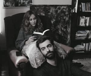 love, poyraz karayel, and book image