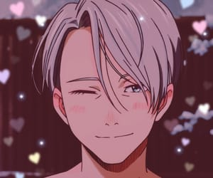 anime, yuri on ice, and victor image