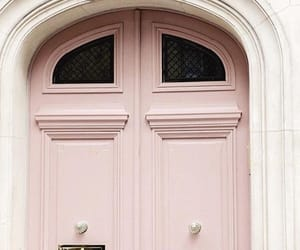 door, pink, and france image