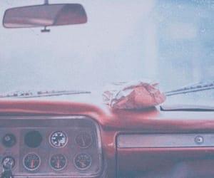 car, rain, and photography image