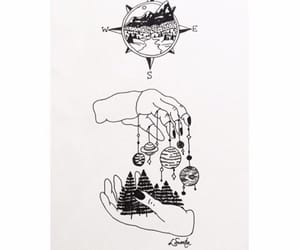 art, black, and blackandwhite image