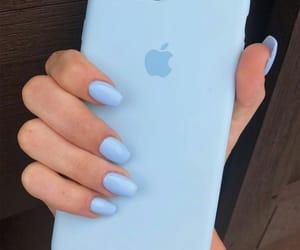 apple, girl, and hand image