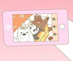wallpaper, bear, and phone image