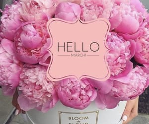 flowers and march image