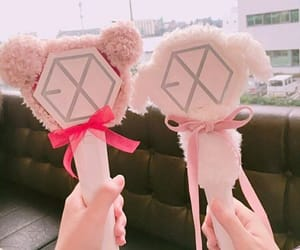 aesthetic, light stick, and cute image