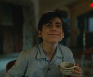 NUMBER 5, the umbrella academy, and aidan gallagher image