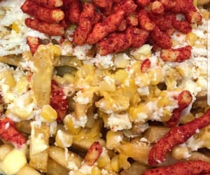 cheese, cheetos, and food image