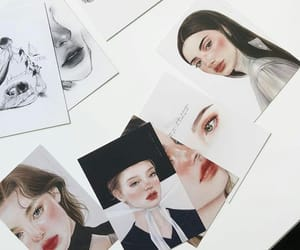 black, drawings, and pictures image