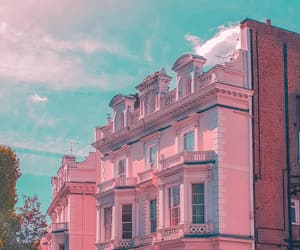 aesthetic, architecture, and barbie image