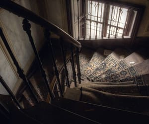 aesthetic, Darkness, and stairs image