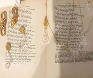 books, gold, and literature image