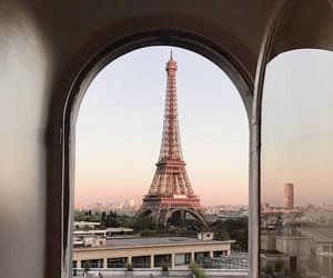 aesthetic, eiffel tower, and city image