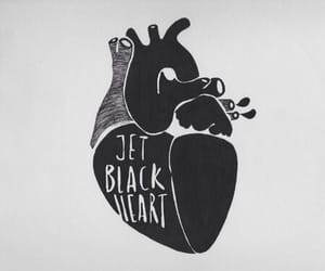 5 seconds of summer, 5sos, and jet black heart image