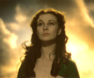 Gone with the Wind, movie, and scarlett image