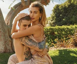 couple, jailey, and justin bieber image