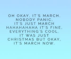 march, quotes, and christmas image