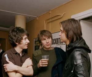 alex turner, julian casablancas, and arctic monkeys image