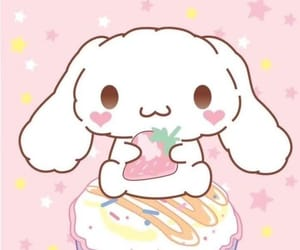cinnamoroll, kawaii, and pastel image