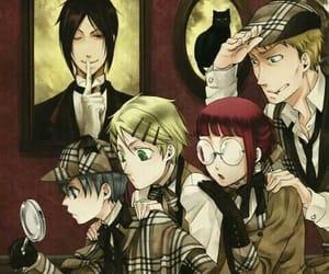 anime, kuroshitsuji, and wallpaper image