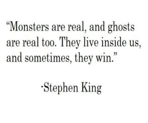 Stephen King, monsters are real, and they win image