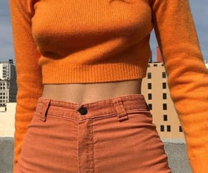 orange, aesthetic, and style image