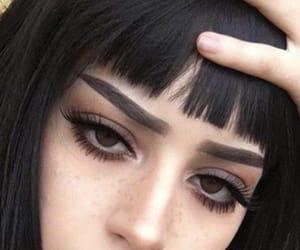 girl, makeup, and aesthetic image