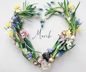 march and love image