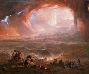 john martin, art, and painting image
