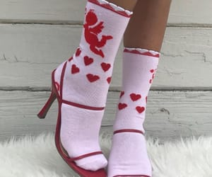 shoes, aesthetic, and red image