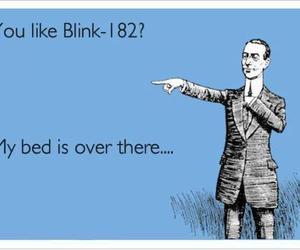 bed, blink, and blink-182 image