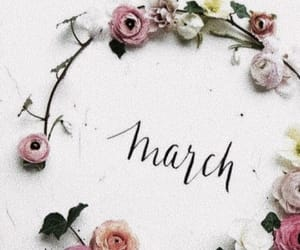 march, months, and spring image