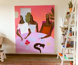 apartment, art, and nice image