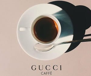 gucci, coffee, and caffe image