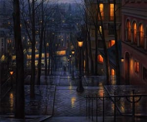 paintings, evgeny lushpin, and vintage paintings image
