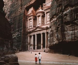 cities, jordan, and travel image