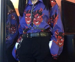 fashion, harness, and outfit image