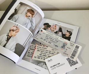 soft, tickets, and photo book image