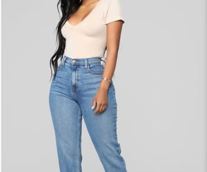 boyfriend jeans, fashion nova, and poshmark image
