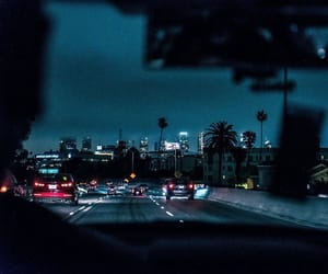 blue, car, and city image