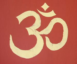 om, Ohm, and yoga image