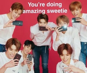 meme, reaction, and nct image