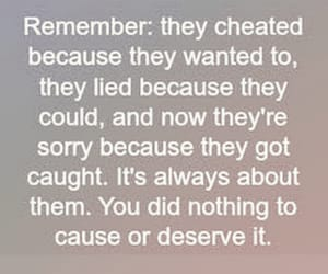 cheat, sad, and quotes image