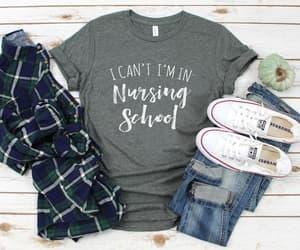 etsy, nursing shirt, and rn shirt image
