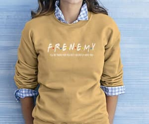 etsy, friends show, and friends sweatshirt image