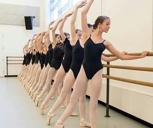 ballerinas, class, and ballet image
