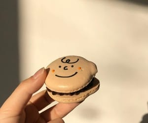 aesthetic, cookie, and macaron image